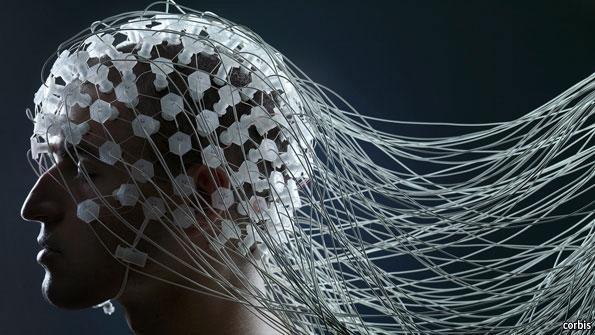 دماغ الكمبيوتر مفهوم تقني حير العلماء