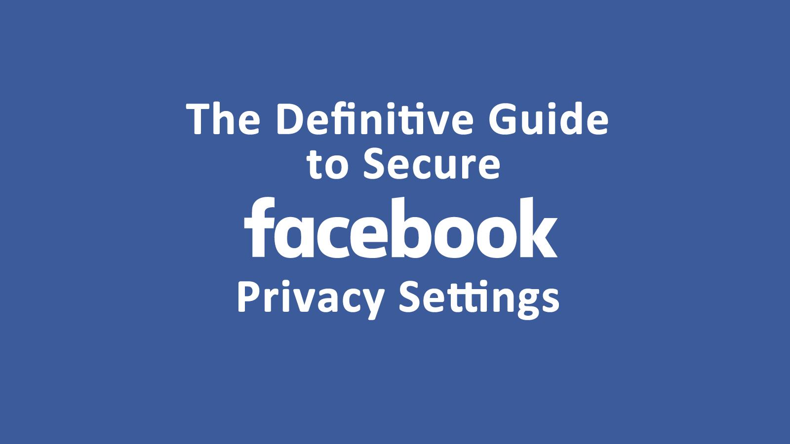 فيس بوك تطرح أداة خصوصية جديدة في عام 20193