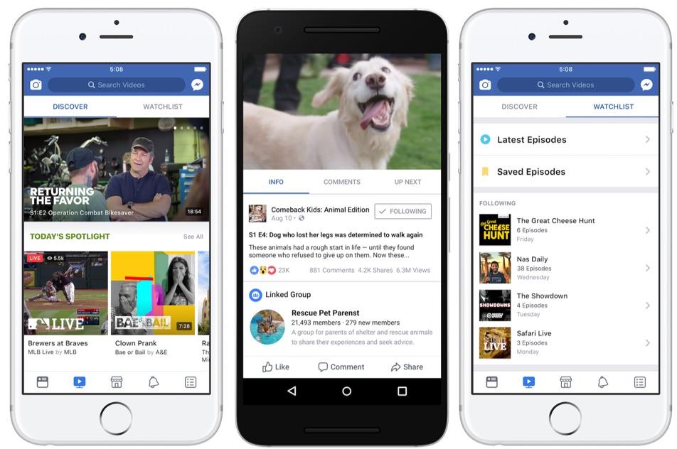 لماذا نجحت خدمة Facebook Watch في منافسة موقع YouTube ؟